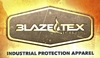 "<font size=""2""><font color=""0000ff"">BLAZE-TEX&#153</font color></font size> FLAME RETARDANT INDUSTRIAL PROTECTION APPAREL"