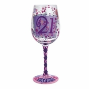 21 Wine Glass by Lolita�