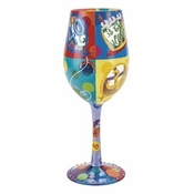40 is the New 30 Wine Glass by Lolita�