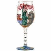 5 O'Clock Again Wine Glass by Lolita�