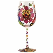 70's Girl Wine Glass by Lolita�