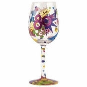 80's Girl Wine Glass by Lolita�