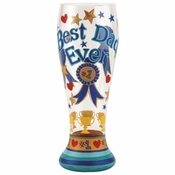 Best Dad Ever Pilsner Glass by Lolita�