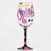 Cheers Wine Glass by Lolita�