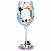 Cheery Mismas Wine Glass by Lolita�