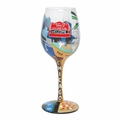 Chicago Wine Glass by Lolita�