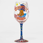 Country Girl Wine Glass by Lolita�