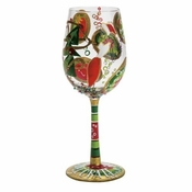 Drink 'N' Decorate Wine Glass by Lolita�