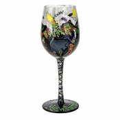 Drinking Witches Wine Glass by Lolita�
