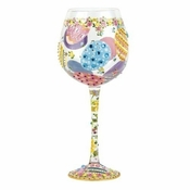 Easter Super Bling Wine Glass by Lolita�