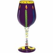 Forty Something Wine Glass  by Lolita�