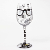 Geeks See Things Wine Glass by Lolita�