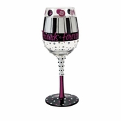 Girlfriends Forever Wine Glass by Lolita�