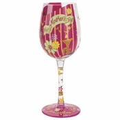 Happy Mother's Day Wine Glass by Lolita�