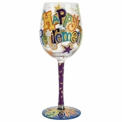 Happy Retirement Wine Glass by Lolita�