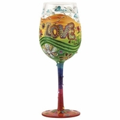 Hippie Wine Glass by Lolita�