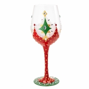 Holiday Soiree Wine Glass by Lolita�