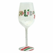 Holiday Wine Wine Glass by Lolita�