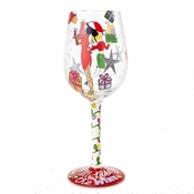 I'll Take The Wine Wine Glass by Lolita�
