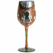 I Saw Mommy... Wine Glass by Lolita�