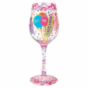It's My Birthday Wine Glass by Lolita�