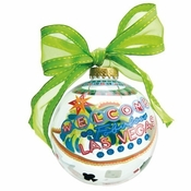 Las Vegas Ball Ornament by Lolita�