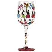 Mani Pedi Wine Glass by Lolita�