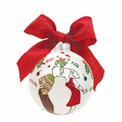 Mistletoe Me Ball Ornament by Lolita�
