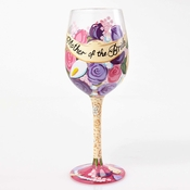 Mother of the Bride Wine Glass by Lolita�