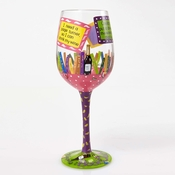 My Book Club Wine Glass by Lolita�