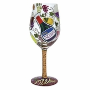 My Therapy Wine Glass by Lolita�