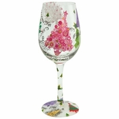 O Christmas Tree Wine Glass by Lolita�