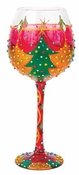 Oh Christmas Tree Super Bling Wine Glass by Lolita�