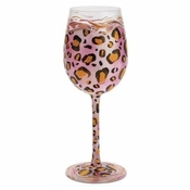 Pink Leopard Wine Glass by Lolita�