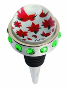 Poinsettia Bottle Stopper by Lolita®