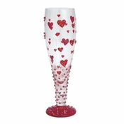 Red Hot Too Sexy Pilsner Glass by Lolita�