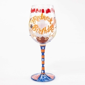 Redneck Birthday Wine Glass by Lolita�