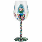 Snow Globe Wine Glass by Lolita�
