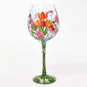 Spring Bling Super Bling Wine Glass by Lolita�