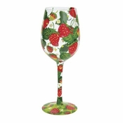 Strawberry Wine Wine Glass by Lolita�
