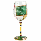 Teacher's Time Out Wine Glass by Lolita�