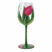 Thank You for Evrything Wine Glass by Lolita�