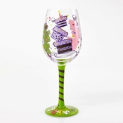 Tipsy Birthday Wine Glass by Lolita�