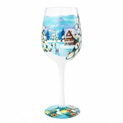 Winter Magic Wine Glass by Lolita�