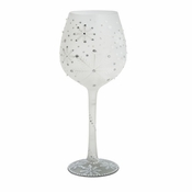 Winter Super Bling Wine Glass by Lolita�