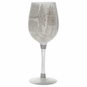 Winter Wonderland Wine Glass by Lolita�
