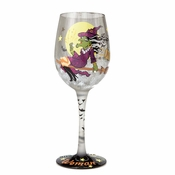 Witchy Woman Wine Glass by Lolita�