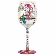 Working Mom Wine Glass by Lolita�