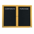 Gold Framed Letter Boards