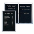 Outdoor Letter Board Cabinets
